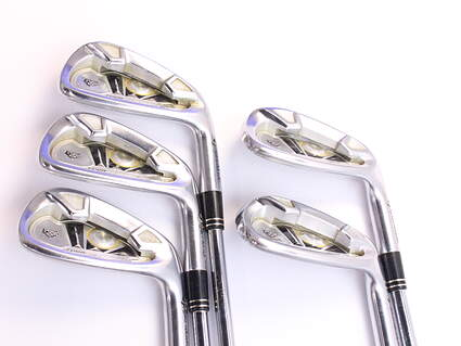 TaylorMade 2009 Tour Preferred Iron Set 6-PW True Temper Dynamic Gold S300 Steel Stiff Right Handed 37.5 in