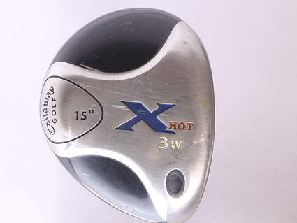 Tour Issue Callaway X Hot Fairway Wood 3 Wood 3W 15* Fujikura Banzai 350 Graphite Stiff Right Handed 44 in