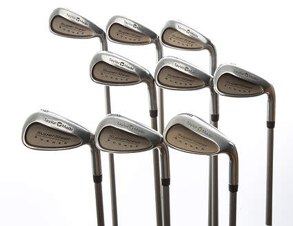 TaylorMade Supersteel Iron Set 3-PW SW TM Bubble Graphite Ladies Right Handed 37.25 in