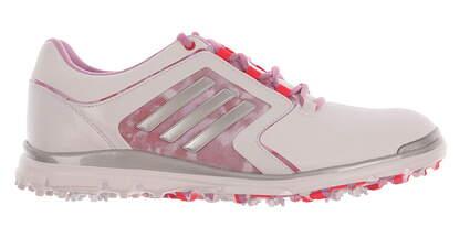 New Womens Golf Shoe Adidas Adistar Tour Medium 10 White/Pink MSRP $120 F33302