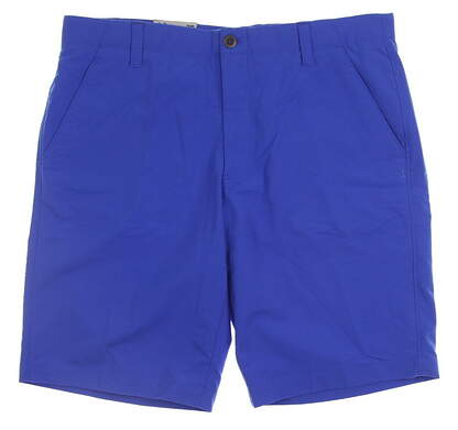 New Mens Under Armour Golf Shorts Size 36 Blue MSRP $72 UM8890