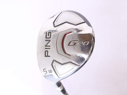Ping G20 Fairway Wood 5 Wood 5W 18* Ping TFC 169F Tour Graphite Stiff Left Handed 42.25 in