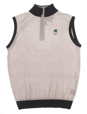New W/ Logo Mens G-Mac Balam Sweater Vest Medium M Gray MSRP $125