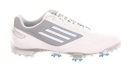 New Mens Golf Shoe Adidas Adizero One Wide 10 White MSRP $150 Q46872