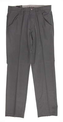 New Mens Adidas Golf Pants 32x32 Gray MSRP $85 BC2639