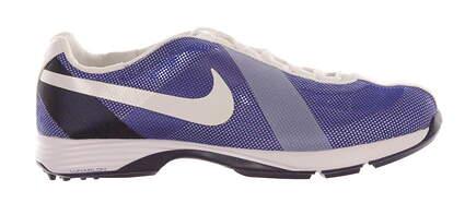 New Womens Golf Shoe Nike Lunar Summer Lite Medium 7 Blue/White MSRP $100