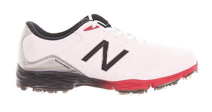 New Mens Golf Shoe New Balance 2004 Medium 11.5 White/Red MSRP $120