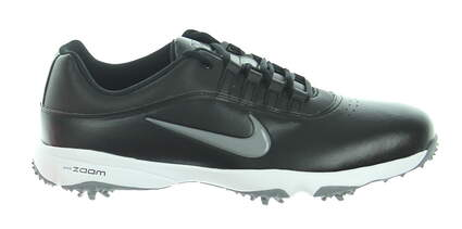 New Mens Golf Shoe Nike Air Zoom Rival 5 Size 10 Black MSRP $100