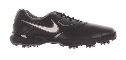 New Mens Golf Shoe Nike Heritage Medium 12 Black MSRP $120