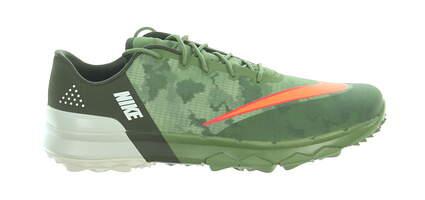 New Mens Golf Shoe Nike FI Flex 9.5 Palm Green/Bright Mandarin MSRP $100