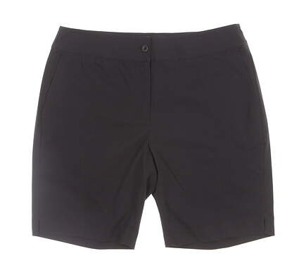 New Womens EP Pro Golf 18 inch Shorts Size 6 Black MSRP $90 NS8000