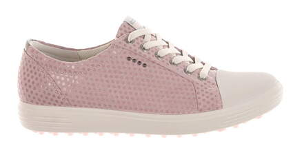 New Womens Golf Shoe Ecco Casual Hybrid Wide 37 (6-6.5) Pink MSRP $160