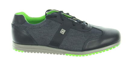 New Womens Golf Shoe Footjoy Casual Collection Medium 8.5 Navy MSRP $120 97718