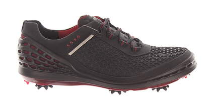 New Mens Golf Shoe Ecco Cage 43 (9-9.5) Black MSRP $200