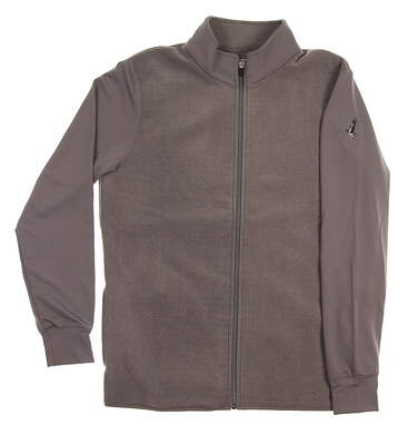 New W/ Logo Mens Straight Down Golf Jacket X-Large XL Gray MSRP $120 60405