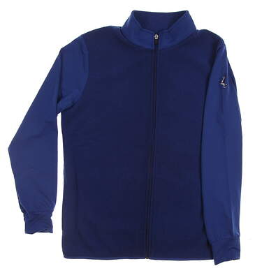 New W/ Logo Mens Straight Down Golf Jacket X-Large XL Blue MSRP $120 60405