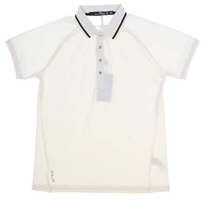 New Womens Ralph Lauren Golf Polo Medium M Cream MSRP $80