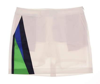 New Womens Ralph Lauren Golf Skort Size 8 White MSRP $130
