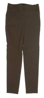 New Womens Ralph Lauren Golf RLX Pants Size 4 Hunter Olive MSRP $165