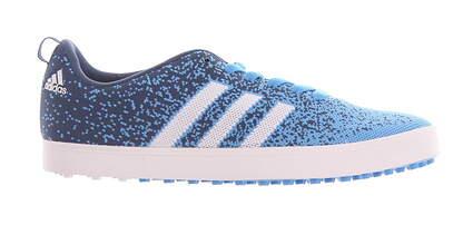 New Mens Golf Shoe Adidas Adicross Primeknit Medium 11.5 Blue MSRP $115 F33349
