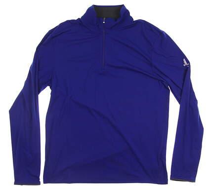 New W/ Logo Mens Ralph Lauren All Long Sleeve Medium M Blue MSRP $130