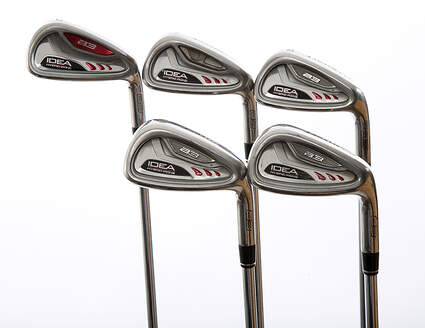 Adams Idea A3 Iron Set 6-PW Stock Steel Shaft Steel Stiff Right Handed 37.75 in