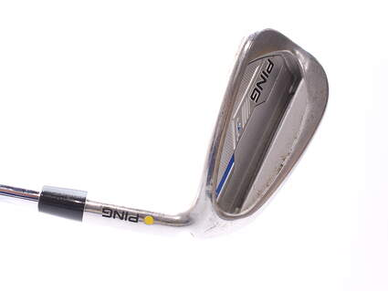 Ping 2015 i Single Iron 9 Iron Ping CFS Distance Steel Stiff Right Handed Yellow Dot 36 in
