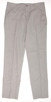 New Mens Adidas adiPure Golf Pants 32x32 Gray MSRP $100 BC5095
