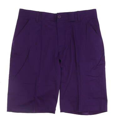 New Mens Adidas adiPure Golf Shorts Size 32 Purple MSRP $85 BC7484