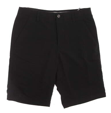 New Mens Under Armour Golf Heat Gear Shorts Size 32 Black MSRP $72 UM8890