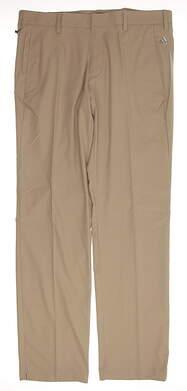 New Mens Adidas All Pants 35x34 Light Grey MSRP $70