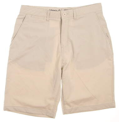 New Mens Johnnie-O Golf Shorts Size 32 Tan MSRP $80