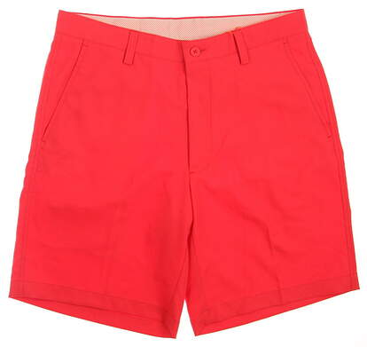 New Mens Fennec Golf Flat Front Shorts Size 38 Red MSRP $89 171F600