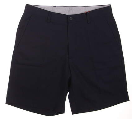 New Mens Fennec Golf Flat Front Shorts Size 32 Navy Blue MSRP $85 000F600