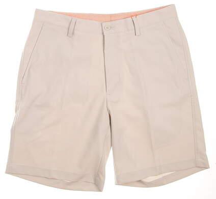 New Mens Fennec Flat Front Shorts Size 32 Tan MSRP $89 000F600