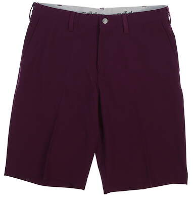 New Mens Adidas Ultimate Golf Shorts Size 32 Purple MSRP $75 CE6810