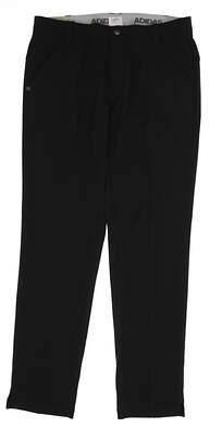 New Mens Adidas Climacool Ultimate Air Flow Pants 32x32 Black MSRP $85 BC2521