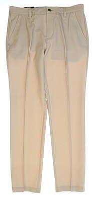 New Mens Adidas Ultimate Tonal Stripe Golf Pants 32x32 Khaki MSRP $90 BC4228
