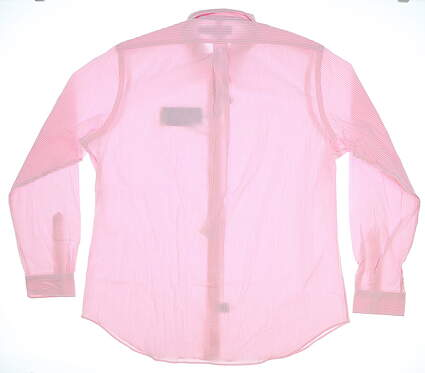 New Mens Ralph Lauren Button Up Medium M Pink MSRP $100 78164040889002