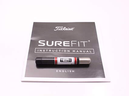 Titleist Surefit 14g Draw/Fade Hybrid Weight W/ Instruction Manual