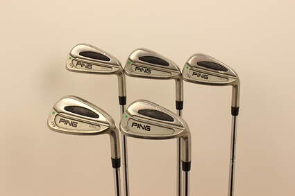 Ping S59 Iron Set 6-PW Stock Steel Shaft Steel X-Stiff Right Handed Green Dot 37.25 in