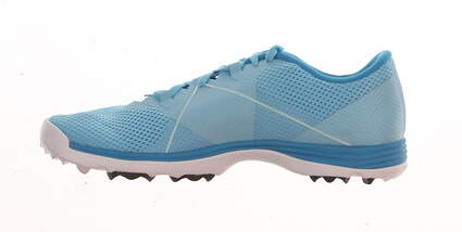 New Womens Golf Shoe Nike Lunar Summer Lite 9 Blue MSRP $100 628539-401