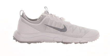 New Womens Golf Shoe Nike FI Bermuda 7.5 White MSRP $140 776089-100