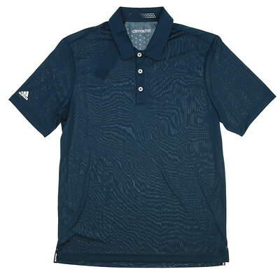 New Mens Adidas Climachill Club Polo Medium M Green MSRP $70 AF0617