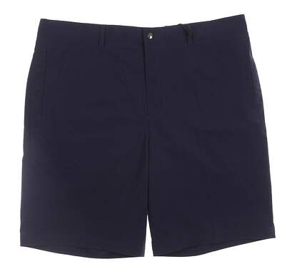 New Mens Zero Restriction Golf Tech Shorts Size 32 Navy Blue MSRP $65 S407