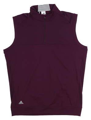 New Mens Adidas Club Vest Medium M Purple MSRP $65 BC7253