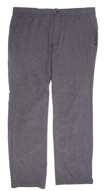 New Mens Under Armour Golf Straight Pants 40x34 Gray MSRP $85