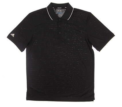 New Mens Adidas Climacool Club Tipped Polo Medium M Black MSRP $75 AE4275