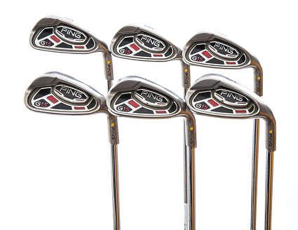 Ping G15 Iron Set 7-PW GW SW Steel Stiff Right Handed Yellow Dot 37.5 in