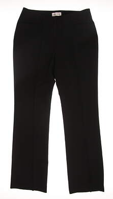 New Womens Sport Haley Golf Pants Size 8 Black MSRP $84